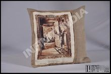Vintage Custom Made Design Cushion