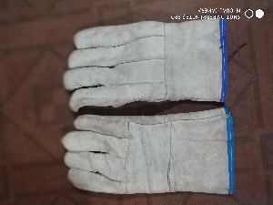 Leather Hand Gloves For Safety