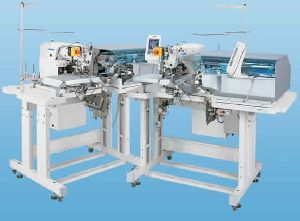 Juki Ab-1351 - Automatic Single Needle Belt Loop Attaching Machine