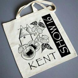 Printed Cotton Shopping Bag