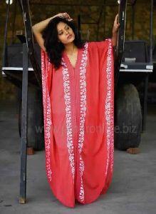 Designer Embroidered Beach Kaftan Tunic