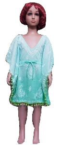 Girls Kids Wear Cotton Kaftan