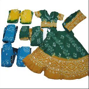 Gujarati Garba Dance Kids Chaniya Choli