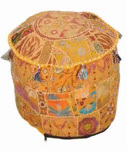 Indian Ottomans Poufs Footstools