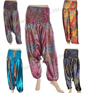Womens Printed Rayon Harems Pants