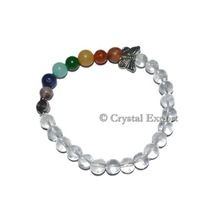 Crystal Quartz Chakra Power Bracelets