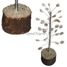 Gomti Chakra Silver Tree
