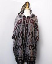 Woolen Poncho Sweater