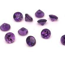 Amethyst Loose Round Gemstone
