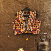 Cotton Multicolor Thread Work Kutchi
