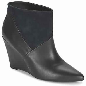 Avioli Navy Women Shoes Ankle Boots