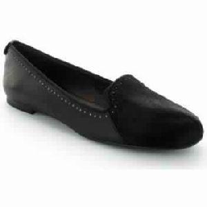 Black Ballerina Sleepers Elisa Black Woman Shoes