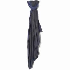 Blue Scarf Women Accessories Textile Scarves