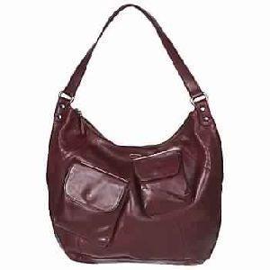 Fisher Burgundy Women Handbags