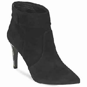 Python Black Woman Shoes Ankle Boots