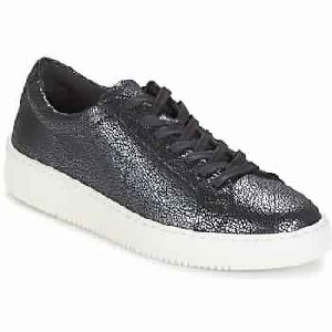 Sneakers Low Cut Wild Silver Gray Woman Shoes