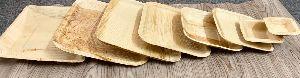 8 Inch Square Areca Leaf Plates