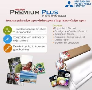 Premium Plus Inkjet Photo Paper