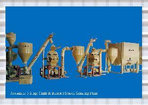 Automatic Masala Grinding Plant