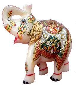 Marble Elephant Handicrafts-stone