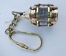 Brass Lantern Key Chain