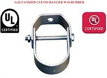 GALVANIZED CLEVIS HANGER WITHOUT RUBBER