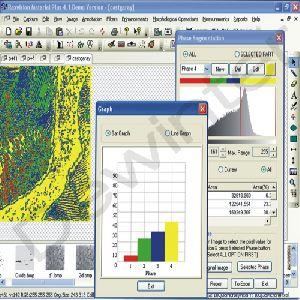 Dewinter Metallurgical Image Analysis software