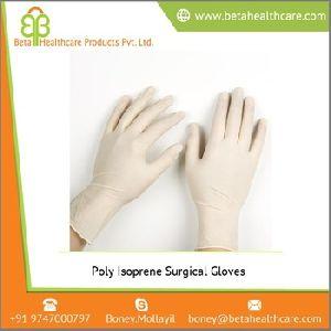 Poly Isoprene Surgical Gloves