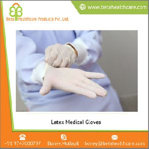 Top Quality Latex Medical Gloves
