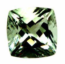 Aaa Quality Loose Natural Semi Precious Green Color Amethyst Green Gemstone