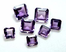 Amethyst Faceted Stone