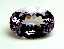 Semi Precious Pink Color Amethyst Stone