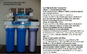 Aquariums Ro/di Water Filteration System