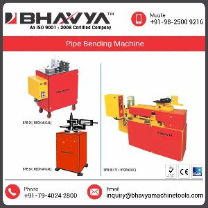 Stainless Steel Ss Pipe Bending Machine