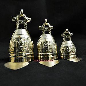 Brass Temple Bells