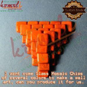 Glass Mosaic Chips