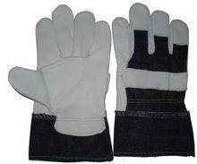 Denim Jeans Cuff Gloves