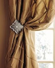 Silk Pintuck Curtain