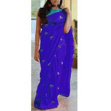 Casual Wear Soft Silk Georgette Banglori Silk Saree