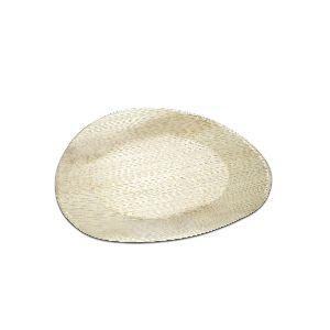 Bio Palm Leaf Oval Plate