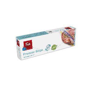 Biodegradable Freezer Bags W/ Zip 27x28cm