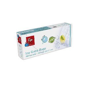Biodegradable Ice Cube Bags 20x31cm - 24cubes