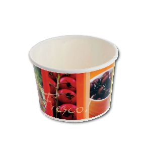 Fresco! Printed Paper Container 16oz