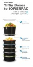 Round Container With & Without Screw Base & Lid