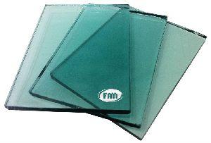 Light Green Reflective Glass
