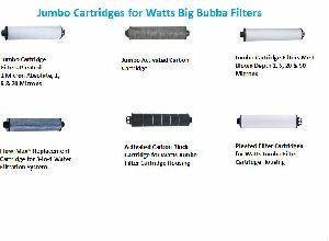 Cartridges for Watts Big Bubba Filters