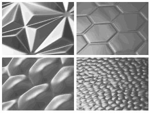 H3D PATTERNS STAINLESS STEEL ARCHITECTURAL SHEETS