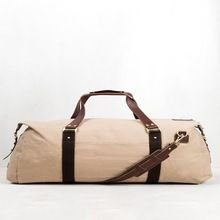 Duffle Bag With Vt Leather Trim