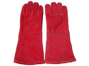 Leather Work Safety Glove