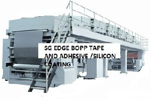 Bopp Tape Coating Machine/adhesive And Silicon Coating Machine